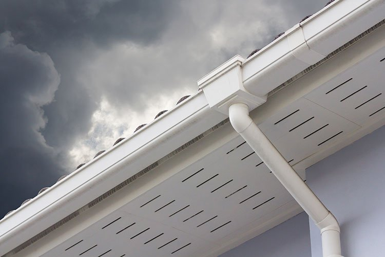Gutters Lackland AFB Texas